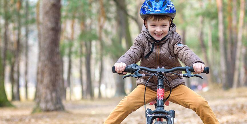 Att öva med barncykel